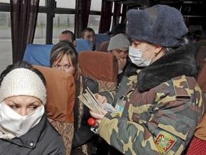 Ющенко сообщил, что четверо военнослужащих заболели свиным гриппом