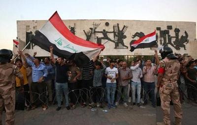 За неделю в ходе протестов в Ираке погибли пять человек