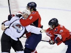 NHL: Лавины сошли на Капитолий