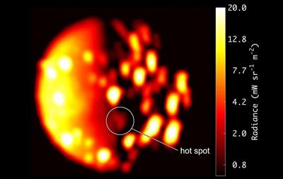 На спутнике Юпитера обнаружили тепловую активность