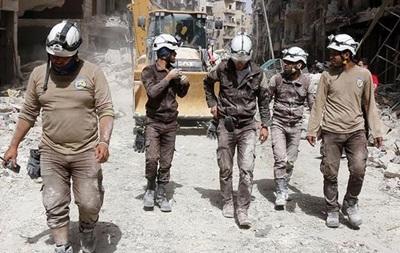 СМИ сообщили об эвакуации Белых касок с семьями из Сирии
