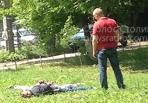 В Киеве стреляли возле Центрального ЗАГСа