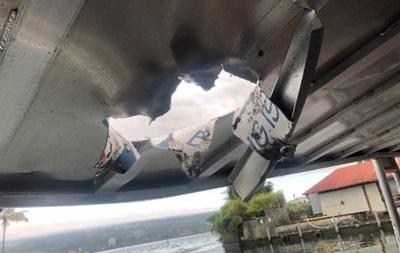 Бомба  з лави поранила понад 20 осіб на гавайському судні