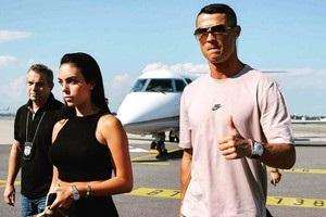 Роналду привіз сім ю на стадіон Ювентуса