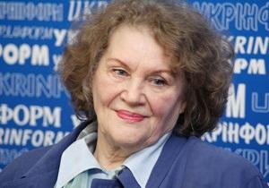 Лина Костенко прервала всеукраинский тур из-за  провокаций