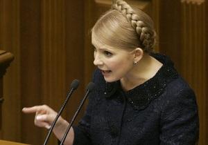Тимошенко рассказала, как повысить курс нацвалюты до 6 грн за доллар
