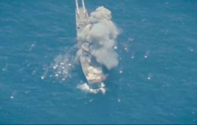 На навчаннях у Тихому океані потопили десантний корабель