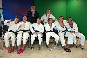 Сборная Украины завоевала бронзу на командном чемпионате Европы по дзюдо