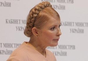 Тимошенко опровергает обвинения в ограничении свободы слова