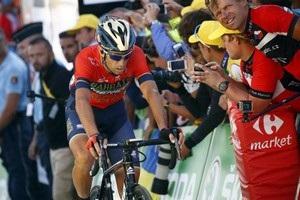 Нібалі знявся з Тур де Франс через перелом хребця