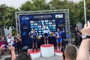Українка стала чемпіонкою Європи в маутінбайку