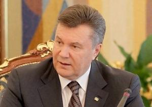 Янукович поздравил главу СБУ с днем рождения