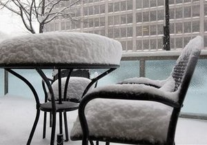 Снегопады обесточили около 100 тысяч домов на юге США