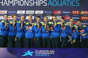 Україна виграла золото ЧЄ в артистичному плаванні
