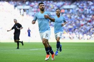Дубль Агуеро приніс Манчестер Сіті Суперкубок Англії