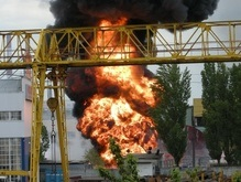 В Киеве взорвался бензовоз (обновлено)