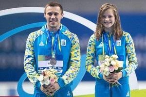 Українці Колодій і Лискун - чемпіони Європи зі стрибків у воду