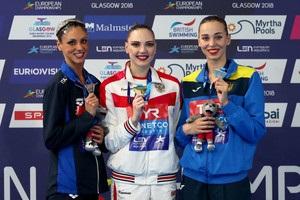Українка Яхно виграла свою сьому медаль на чемпіонаті Європи