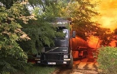 Розлиту під Дніпром азотну кислоту везли нелегально