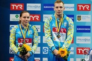 Українці виграли бронзу ЧЄ зі стрибків у воду