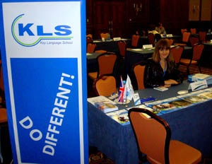 """KLS в рамках партнерской программы приняла участие в выставке бизнес-образования """"Economic and Business Education Fair"""""""
