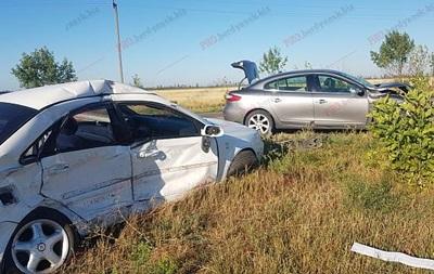 У Запорізькій області зіткнулися два легковики: загинула жінка
