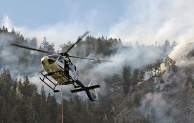 У горах Баварії другий день горять ліси
