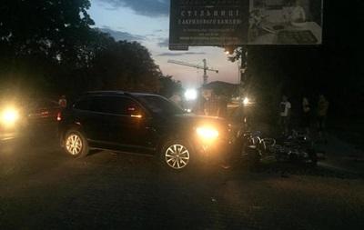 Екс-дружина глави Нацполіції збила мотоцикліста в Ужгороді - ЗМІ