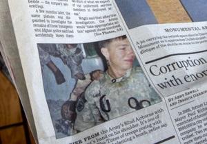 США извинились за снимки своих солдат на фоне тел афганцев