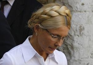 Суд отказался рассматривать апелляцию на арест Тимошенко