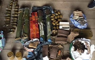 В доме экс-добровольца нашли еще один арсенал оружия