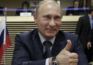 В России за использование имени Путина для извлечения выгоды будут наказывать