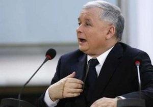 Качиньский назвал хорошими свои отношения с Януковичем