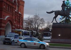 В Москве перекрыта Триумфальная площадь, туда стягивают силы полиции и войск