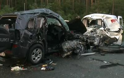 Под Киевом в страшном ДТП погибли четыре человека