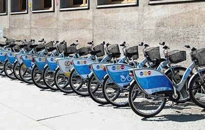 У Харкові з явилися станції муніципального велопрокату