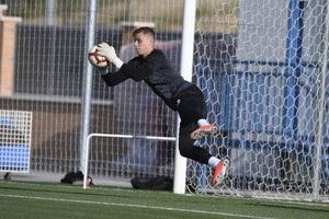 Лунін провів перше тренування в складі Леганесу