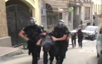 Полиция задержала 18 участников захвата здания на Воздвиженке
