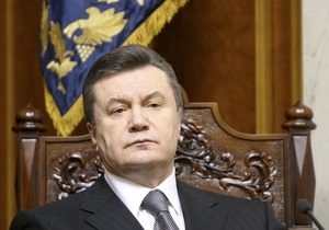Янукович обратился к народу: Господь дал нам шанс спасти государство