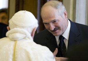 Лукашенко призвал католическую церковь смягчить конфликт между Беларусью и ЕС