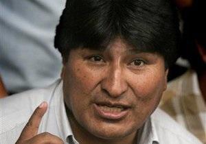 Эво Моралес заявил, что может работать по 18-20 часов в сутки благодаря кукурузе