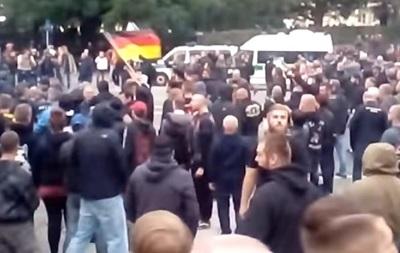 Антимигрантские протесты в Германии: задержаны 300 человек