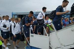 Збірна України вирушила до Чехії на свій перший матч в Лізі Націй