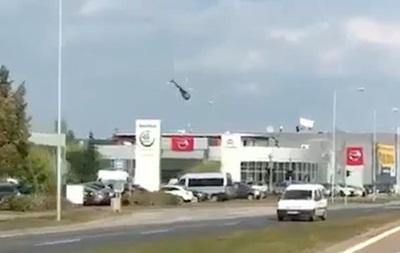 У Чехії розбився вертоліт