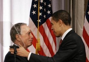 За Обаму: Мэр Нью-Йорка агитирует американцев поддержать на выборах действующего президента