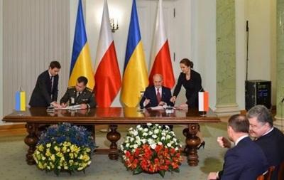 Рада схвалила військову угоду з Польщею