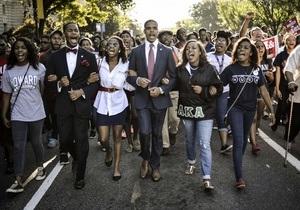 В США отмечают 50-летие речи Мартина Лютера Кинга