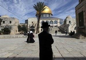 ООН, ЕС, Россия и США призвали Израиль заморозить строительство поселений в Иерусалиме