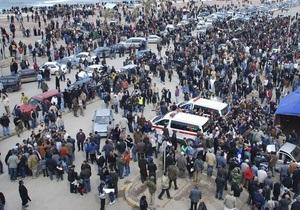 Жители ливийского Бенгази взяли в плен наемников Каддафи