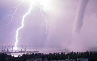 На Крым обрушился мощный ураган